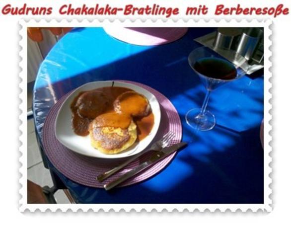 Kartoffeln: Chakalaka-Bratlinge mit Berbere-Tomatensoße - Rezept - Bild Nr. 12