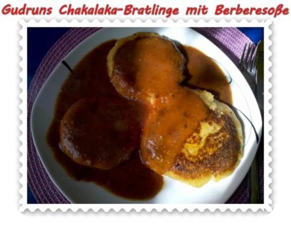 Kartoffeln: Chakalaka-Bratlinge mit Berbere-Tomatensoße - Rezept - Bild Nr. 14