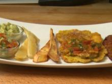 Plátano y yuca caribeña con salsas (Don Cali) - Rezept