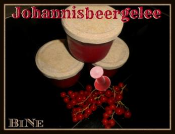 BiNe` S JOHANNISBEERGELEE - Rezept