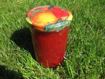 Stachelbeeren-Johannisbeeren-Marmelade - Rezept