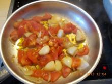 Gefüllte gelbe Spitzpaprika - Rezept