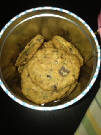 Schokoladen-Muscovado-Pekannuss-Cookies - Rezept - Bild Nr. 4