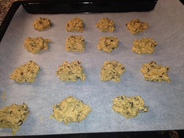 Schokoladen-Muscovado-Pekannuss-Cookies - Rezept - Bild Nr. 10
