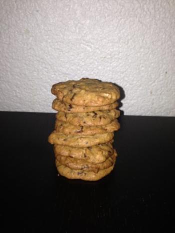 Schokoladen-Muscovado-Pekannuss-Cookies - Rezept - Bild Nr. 2