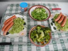 Beilage : Kartoffel - Brokkoli - Stampf - Rezept