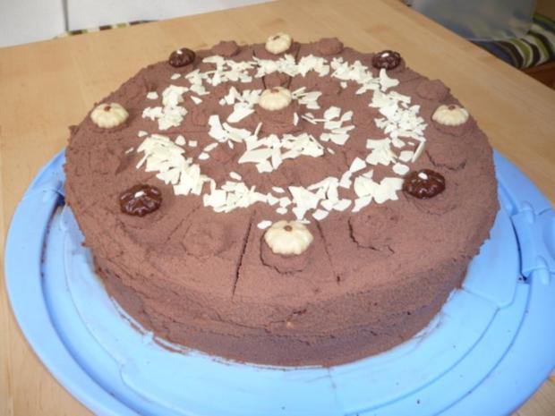 Schokoladen-Marzipan-Torte - Rezept - Bild Nr. 9