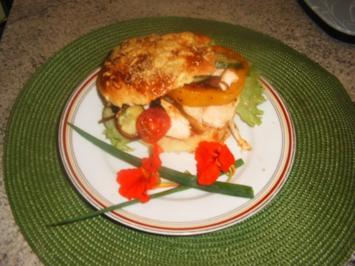 Hähnchen Burger - Rezept