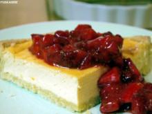 Lavendeltarte mit marinierten Erdbeeren - Rezept