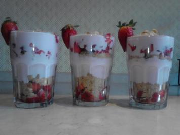 Erdbeerbecher - Rezept