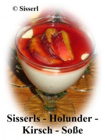 Sisserl's  * Holunder – Kirsch – Soße * - Rezept