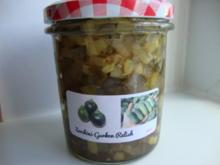Zucchini-Gurken Relish - Rezept - Bild Nr. 385