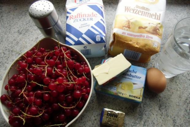 ❤ Johannisbeer - Streuselkuchen ❤ - Rezept - Bild Nr. 5