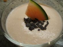 Dessert: Melonenquark - Rezept