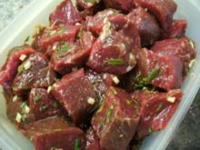 Marinade für Lammfleisch - Rezept