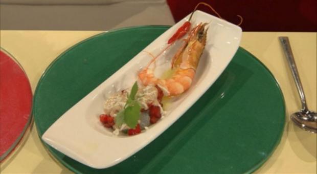 Muceca de camarão a la Buchholz (Frank Buchholz) - Rezept