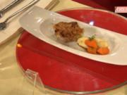 Knuspriges vom Spanferkel mit Pastinakengemüse  a la Buchholz (Frank Buchholz) - Rezept