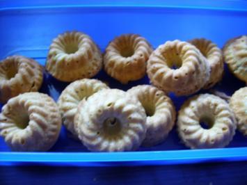 Kleine Kuchen: Minigugelhupfe - Rezept