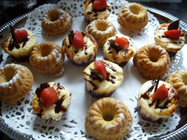 Kleine Kuchen Minigugelhupfe Rezept Mit Bild Kochbar De