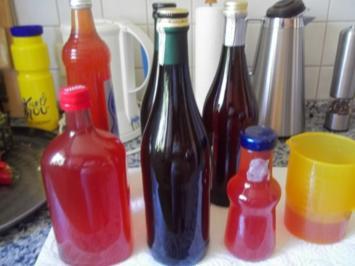 Apfel-Stachelbeer- Johannisbeer-Saft - Rezept