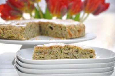 Zucchini-Blechkuchen - Rezept