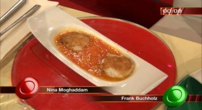 Milchreisplätzchen mit Chutney von Zitrusfrüchten (Nina Moghaddam) - Rezept