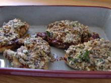 Kotelett mit Champignonkruste - Rezept
