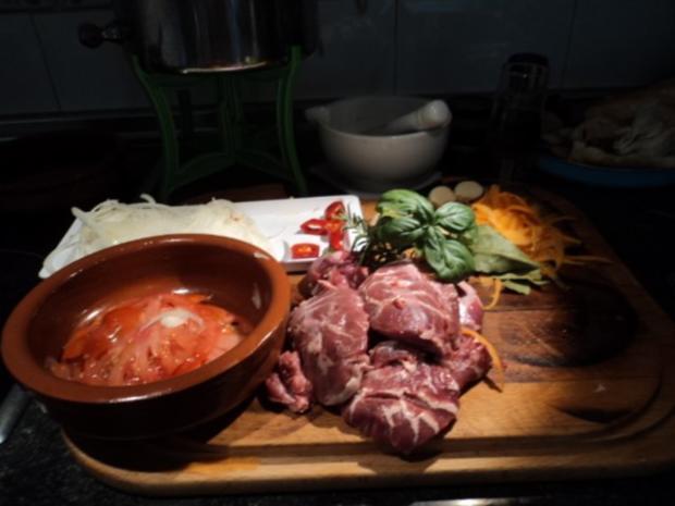 Carrillada (Schweinebaeckchen) - Rezept - Bild Nr. 2