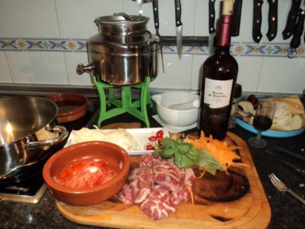 Carrillada (Schweinebaeckchen) - Rezept - Bild Nr. 3