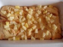 Brotpudding mit Früchten - Rezept
