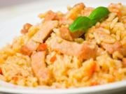 Edas Champignon-Reis-Huhn - Rezept