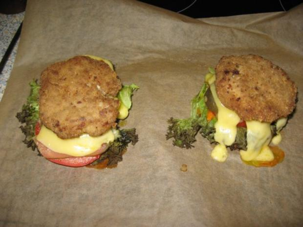 Cheesburger mal anders - Rezept