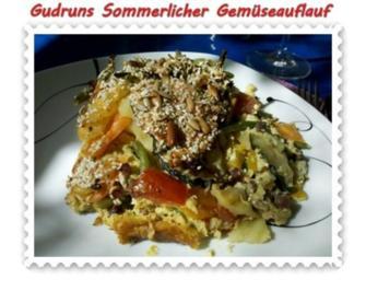 Rezept: Gemüse: Sommerlicher Gemüseauflauf