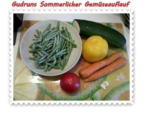 Gemüse: Sommerlicher Gemüseauflauf - Rezept - Bild Nr. 2