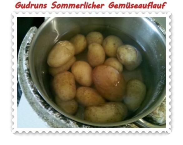 Gemüse: Sommerlicher Gemüseauflauf - Rezept - Bild Nr. 4
