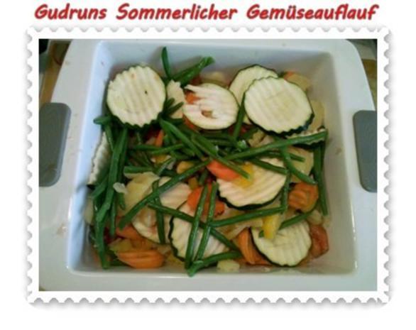 Gemüse: Sommerlicher Gemüseauflauf - Rezept - Bild Nr. 7