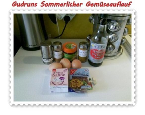 Gemüse: Sommerlicher Gemüseauflauf - Rezept - Bild Nr. 8