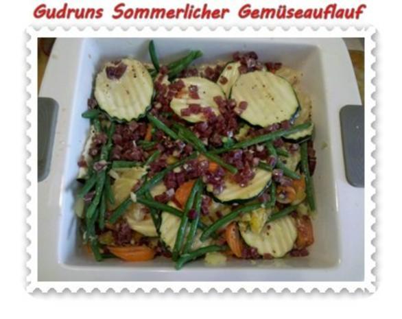 Gemüse: Sommerlicher Gemüseauflauf - Rezept - Bild Nr. 10