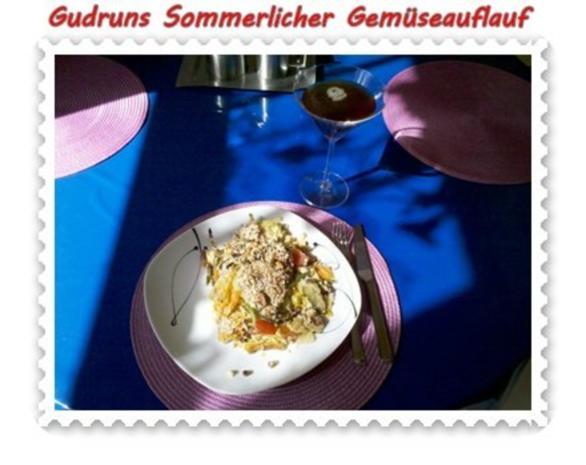 Gemüse: Sommerlicher Gemüseauflauf - Rezept - Bild Nr. 14