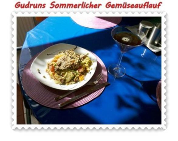 Gemüse: Sommerlicher Gemüseauflauf - Rezept - Bild Nr. 15
