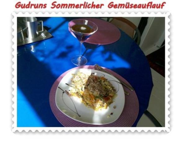 Gemüse: Sommerlicher Gemüseauflauf - Rezept - Bild Nr. 16