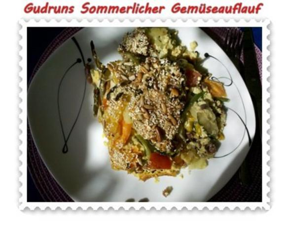 Gemüse: Sommerlicher Gemüseauflauf - Rezept - Bild Nr. 17