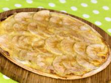 Apfel-Zimt Flammkuchen - Rezept - Bild Nr. 2