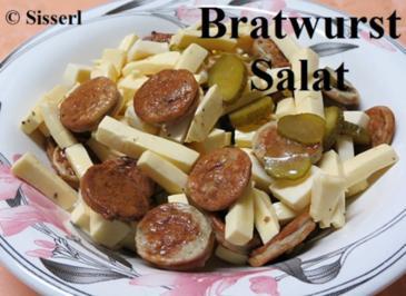 Sisserl's - Bratwurst-Salat - Rezept