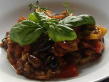 Pikanter Gemüsesalat aus Sizilien - Rezept