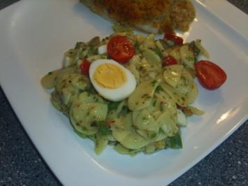 Kartoffelsalat im heissen Sommer - Rezept