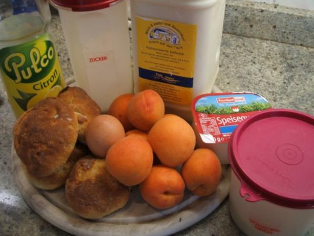 Auflauf: Aprikosen-Quark-Auflauf - Rezept - Bild Nr. 2
