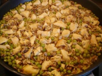 Reis mit Zimt-Huhn - Rezept