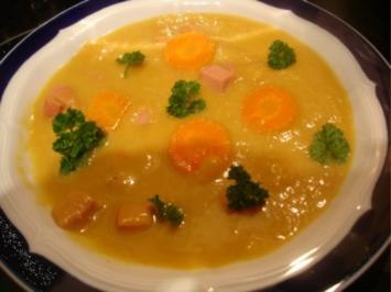 Ingwer-Möhren-Kartoffel-Cremesuppe - Rezept