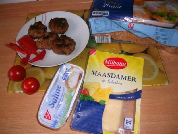 ***Hackfleisch-Käse Toast*** - Rezept - Bild Nr. 2